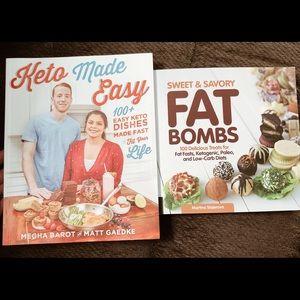 Other - Keto cookbook bundle
